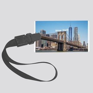New York Large Luggage Tag