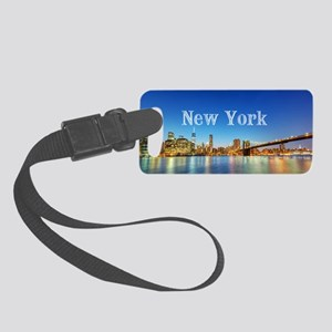 New York Small Luggage Tag