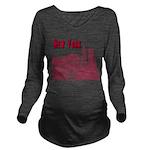 New York Long Sleeve Maternity T-Shirt
