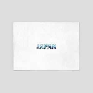 Japan 002 5'x7'Area Rug