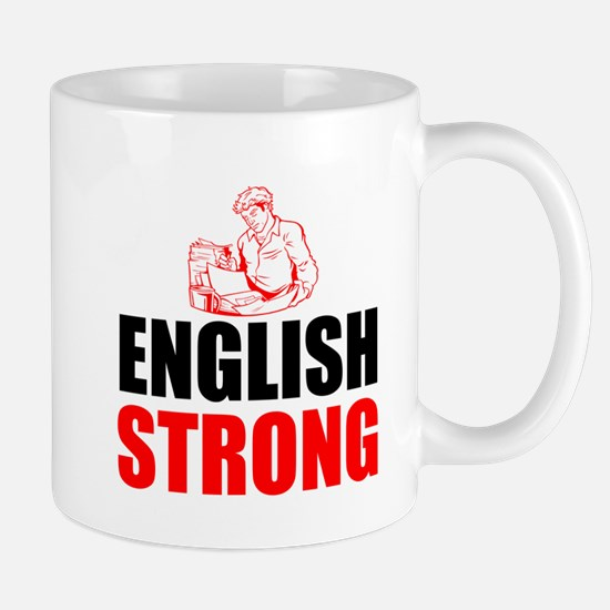 English Strong Mugs