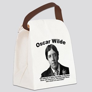 Wilde: Authority Canvas Lunch Bag