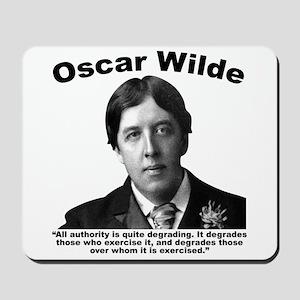 Wilde: Authority Mousepad