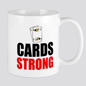 Cards Strong Mugs