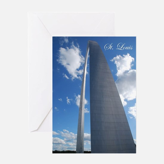 St Louis Arch Greeting Cards
