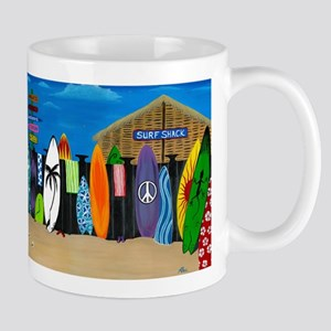 Rheas Sapelo surf shack Mugs