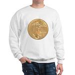 Gold Liberty 1986 Sweatshirt