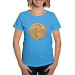 Gold Liberty 1986 Women's Dark T-Shirt