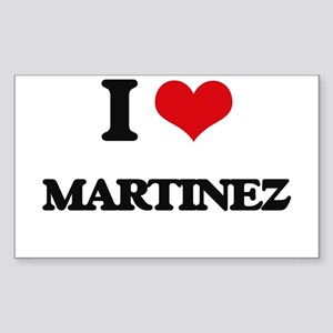 I Love Martinez Sticker