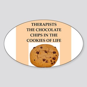 therapist Sticker (Oval)