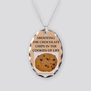 shooting Necklace Oval Charm