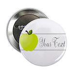 Personalizable Green Apple 2.25