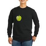 Personalizable Green Apple Long Sleeve T-Shirt