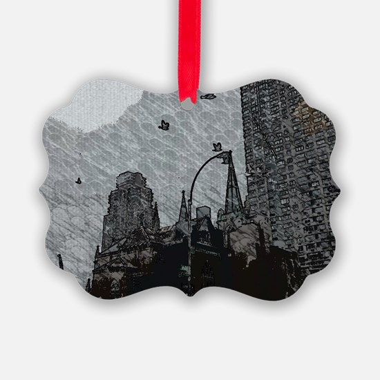 Gothic City Ornament