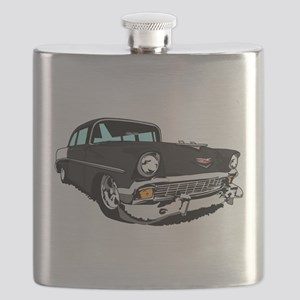 Im Mad for this Black 2 Door Bel Air! Flask