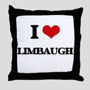 I Love Limbaugh Throw Pillow