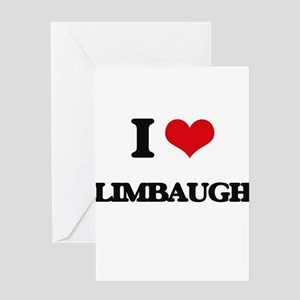 I Love Limbaugh Greeting Cards