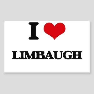 I Love Limbaugh Sticker