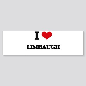 I Love Limbaugh Bumper Sticker