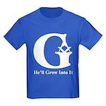 Masons Kids He'll Grow Into It Dark T-Shirt