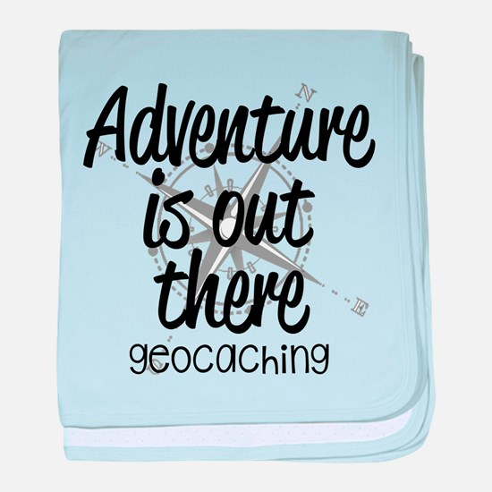 Adventure is Out There baby blanket