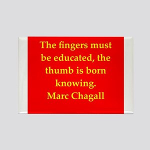 chagall8 Rectangle Magnet