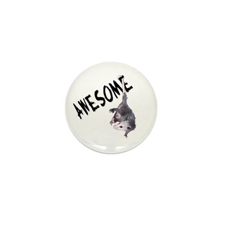 Awesome Possum Mini Button
