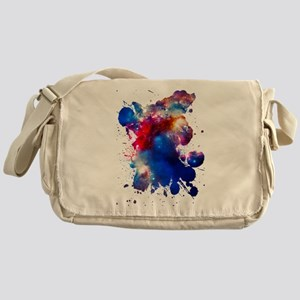 Colorful Cosmos Messenger Bag