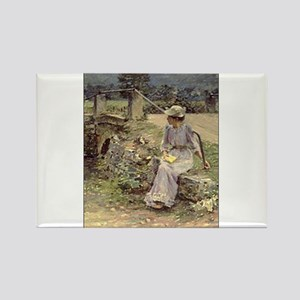 theodore robinson Rectangle Magnet