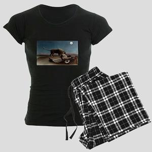 henri rousseau Women's Dark Pajamas