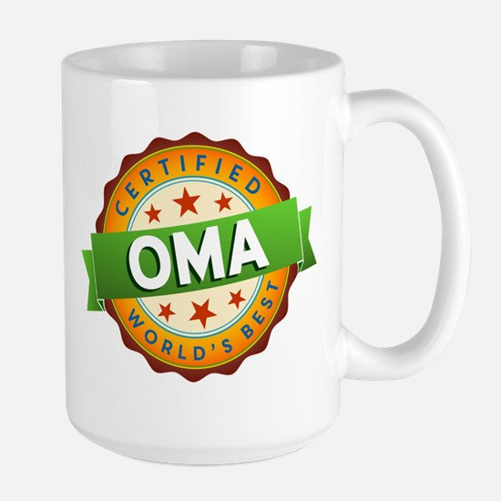 World's Best Oma Mugs