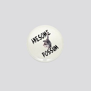 Awesome Possum Mini Button