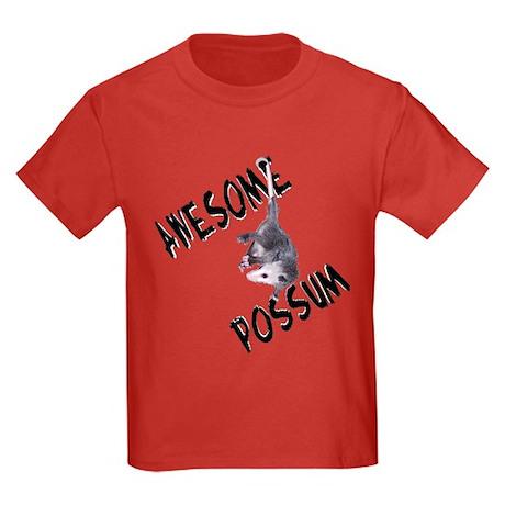 Awesome Possum Kids Dark T-Shirt