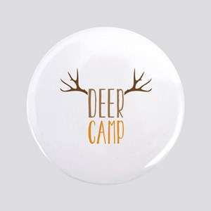 """Deer Camp 3.5"""" Button"""