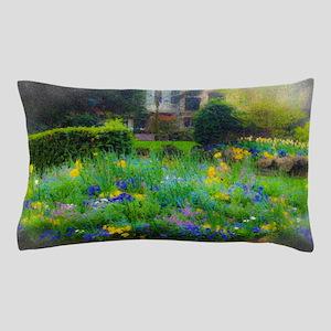 Provence Flower Garden Pillow Case
