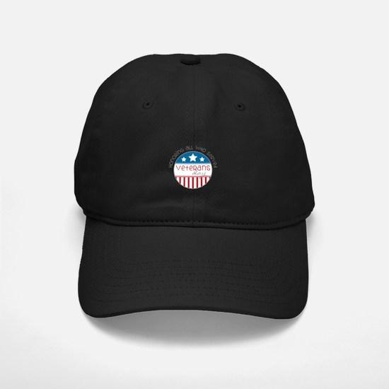 Served Veterans day Baseball Hat