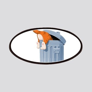 Cat in Trash Can Patches