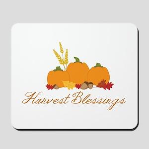 Harvest blessings Mousepad