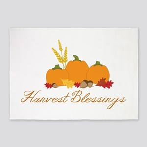 Harvest blessings 5'x7'Area Rug