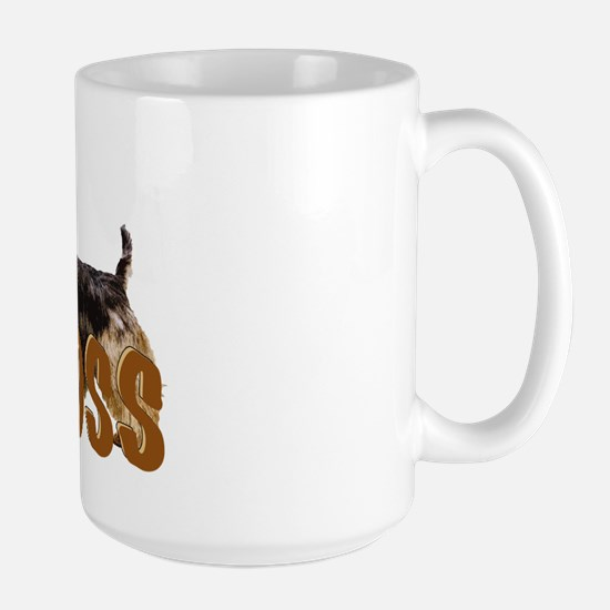 Australian terrier Boss Large Mug