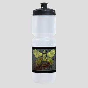 Golden Moth Chemical Logo Sports Bottle