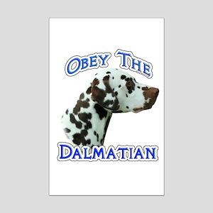 Obey Dalmatian Mini Poster Print