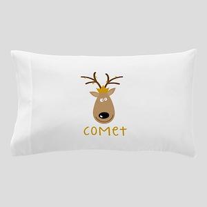 Comet Reindeer Pillow Case