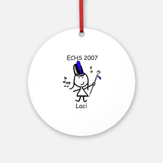 Drum Major - Laci Ornament (Round)