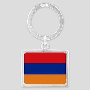 Armenian flag Landscape Keychain