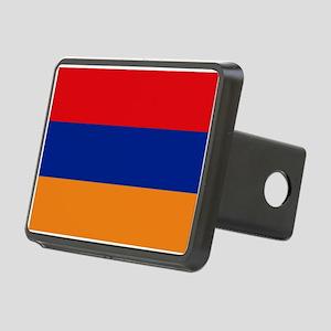 Armenian flag Rectangular Hitch Cover