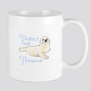 PROTECT AND PRESERVE Mugs