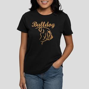 BULLDOGS Women's Dark T-Shirt