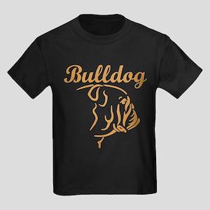 BULLDOGS Kids Dark T-Shirt