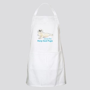 SAVE THE HARP SEAL PUPS Apron
